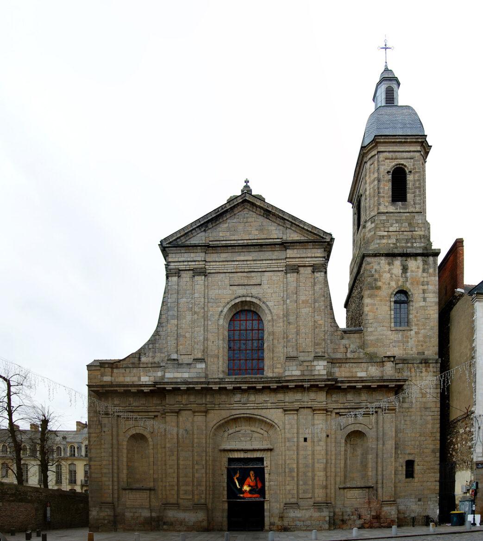 Basilique Saint-Sauveur à Rennes