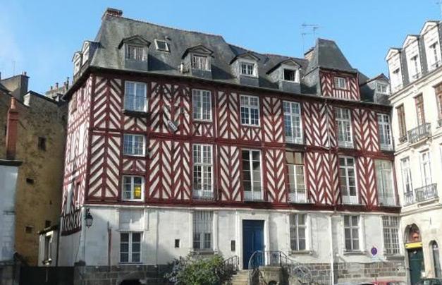 Hôtel de Tizé à Rennes