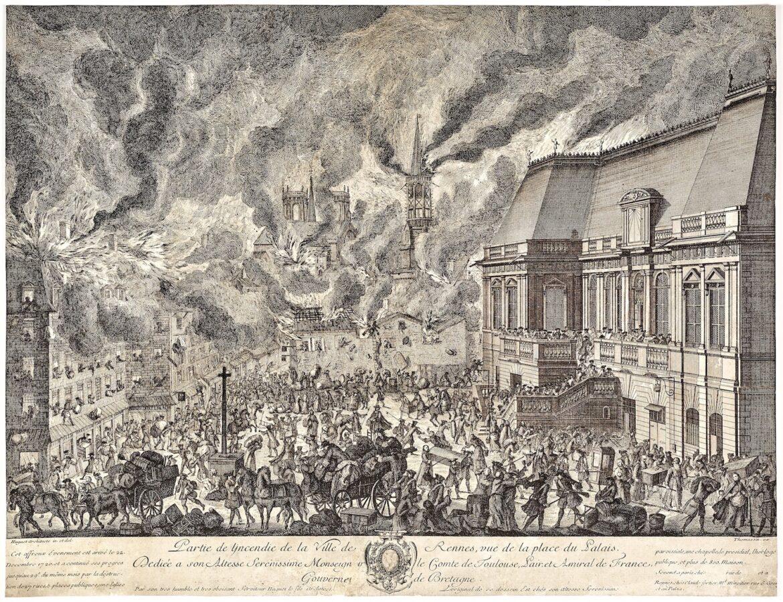 Incendie de Rennes de 1720