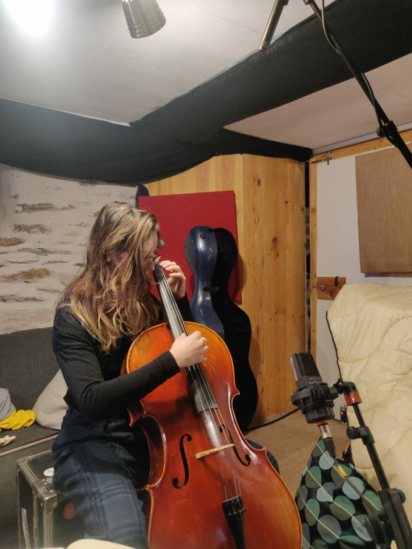 Musique Katarina White violoncelle