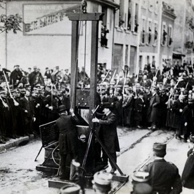 Monsieur de Paris, une production de podcast fiction original sur l'exécution d'un condamné à mort
