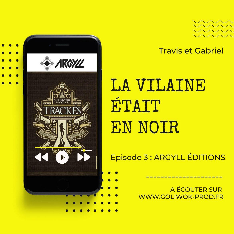 Podcast policier : La Vilaine était en NOIR avec Xavier Dollo et Simon Pinel