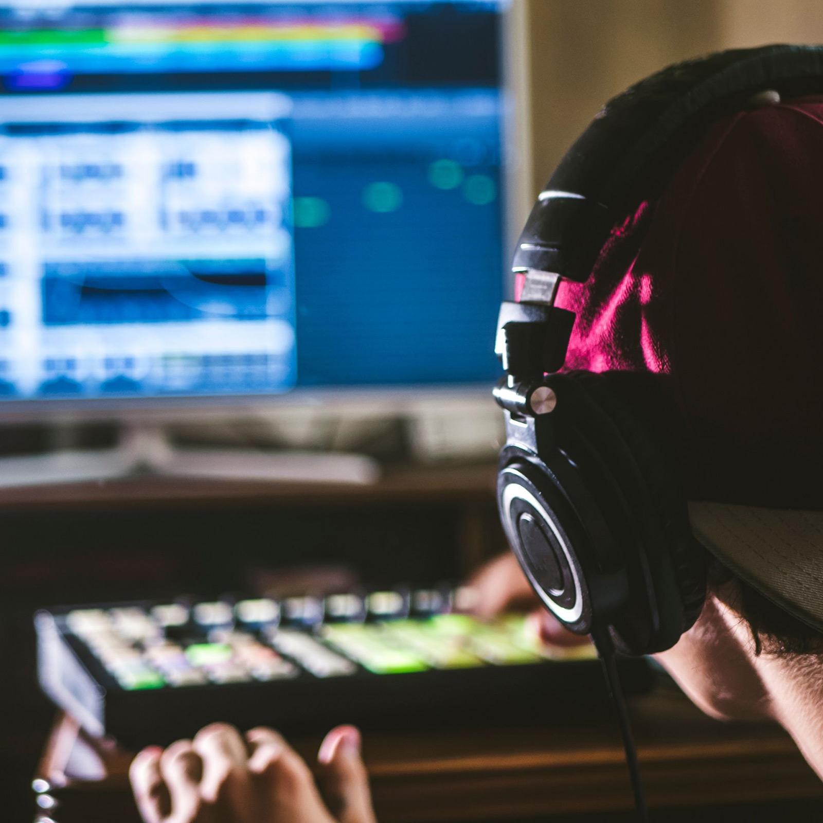 Logiciel d'enregistrement audio pour studio pro